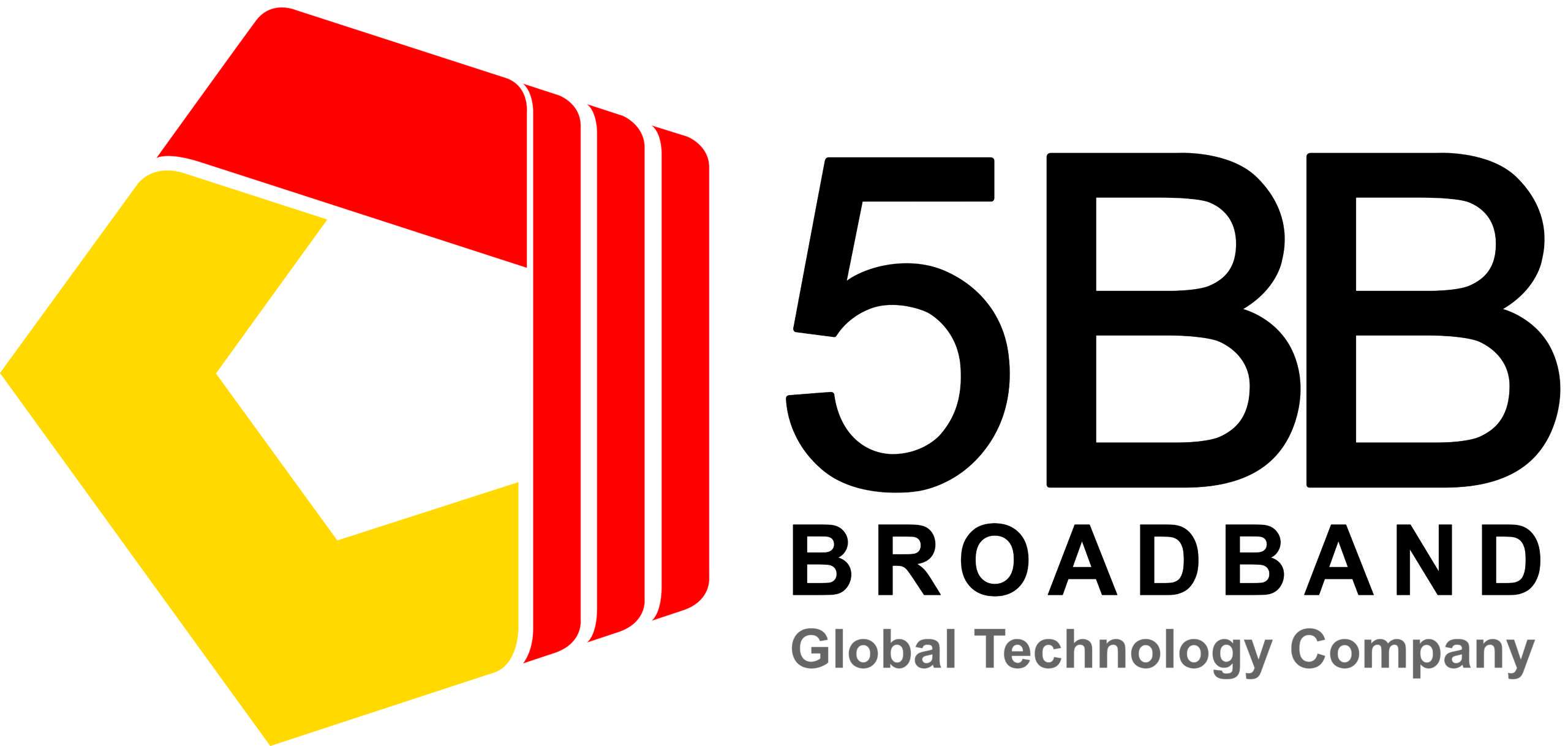 Internet Access Partner - 5BB Final Logo with Global Technology Co
